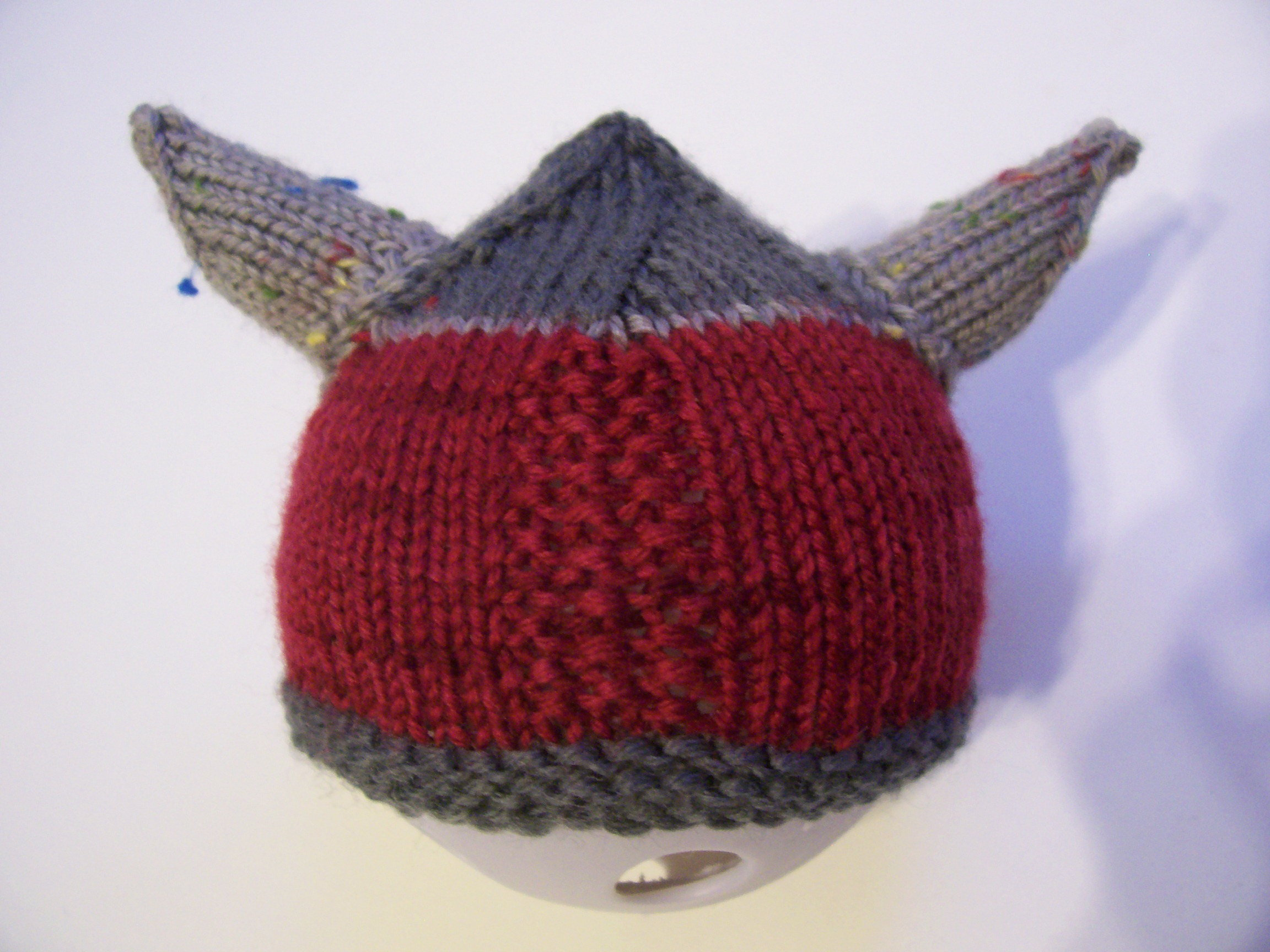 Viking Hat Knitting Pattern Free : Viking Preemie Hat a k n i t i c a