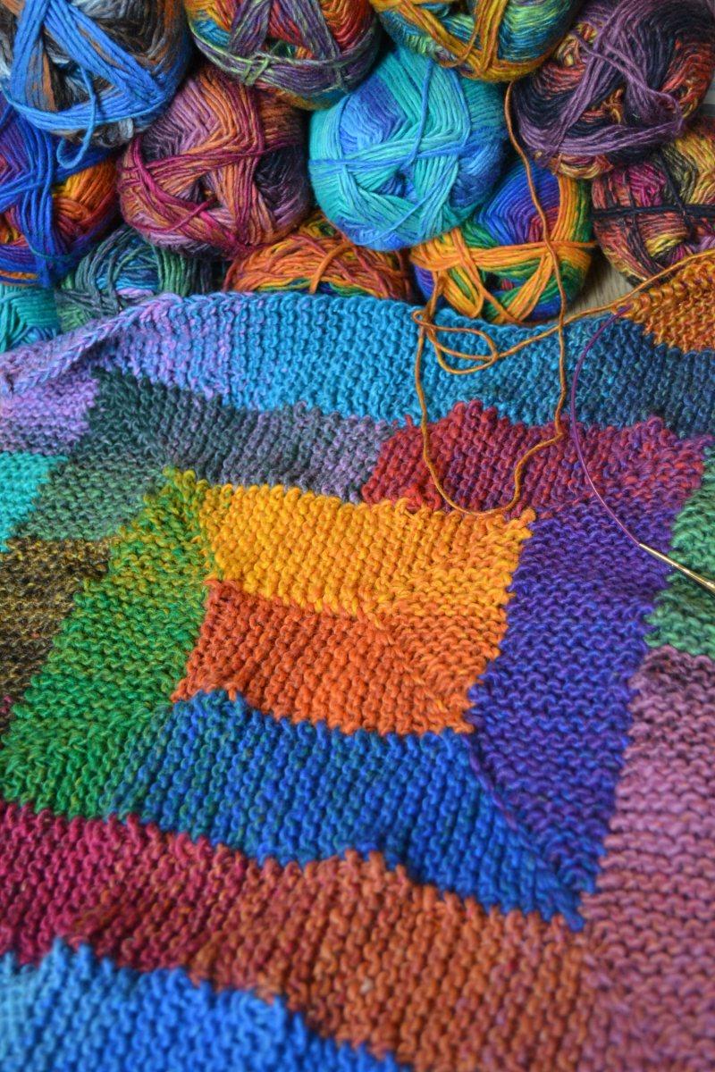 Vacation Knitting!