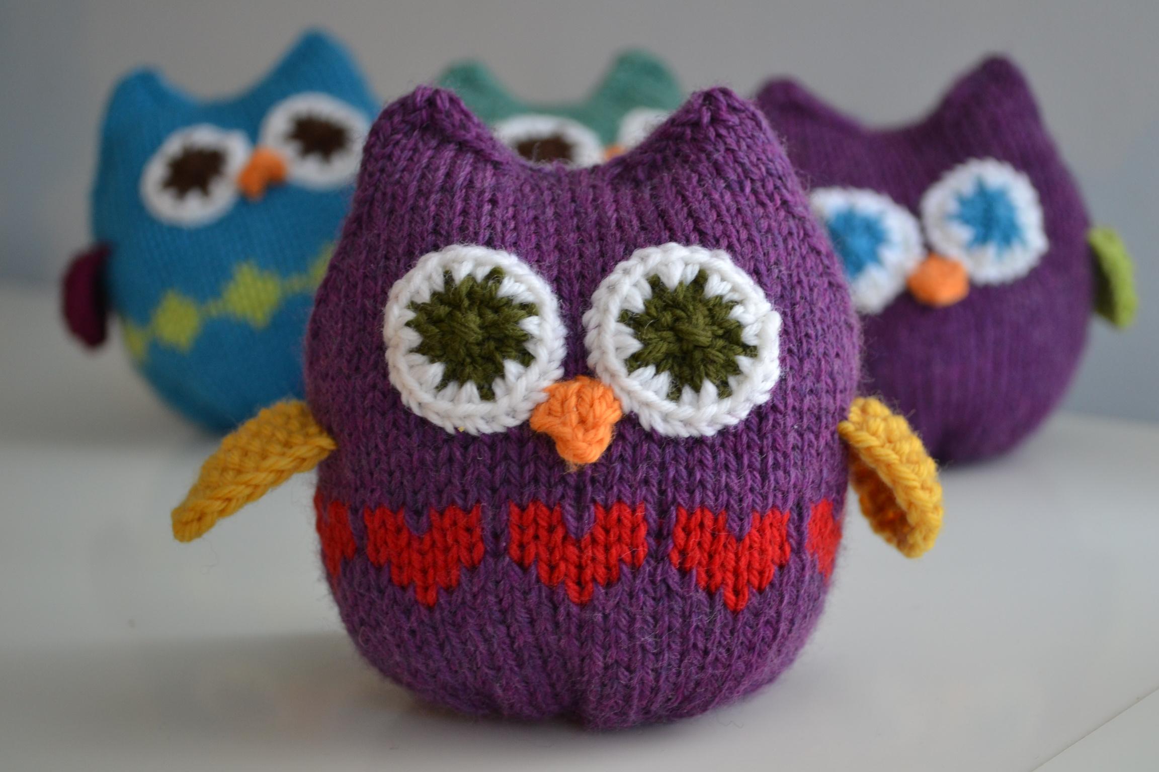 Squish Owls | a k n i t i c a